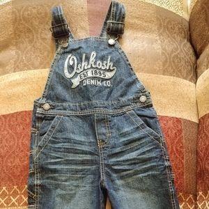 OshKosh Overalls and OshKosh shirt size 3T